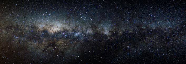 Nebula「Panorama view of the Milky Way」:スマホ壁紙(6)