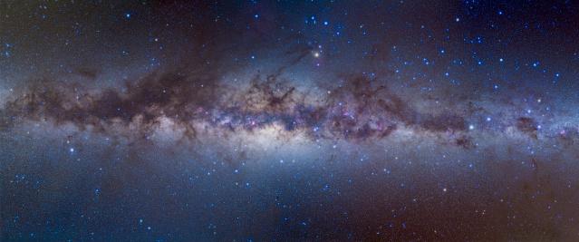 天の川「Panorama view of the center of the Milky Way.」:スマホ壁紙(16)