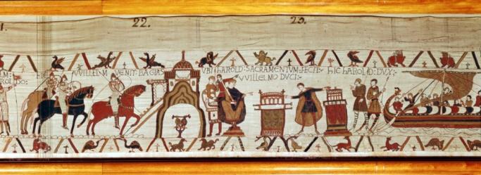 1990-1999「English King Harold II on visit to Normandy, 1064」:スマホ壁紙(17)