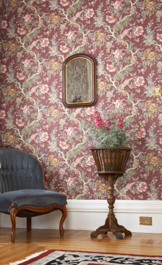 Floral Pattern「Old fashioned house interior」:スマホ壁紙(19)