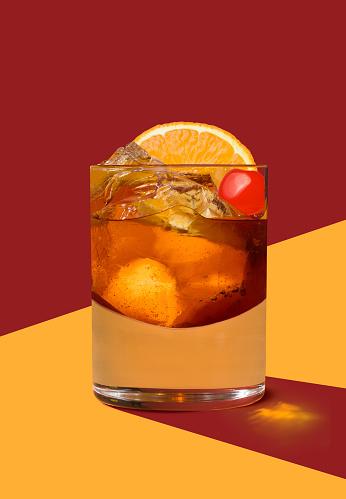 Cocktail「Old Fashioned」:スマホ壁紙(18)