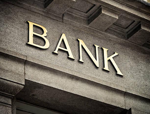 Old Fashioned Bank Sign:スマホ壁紙(壁紙.com)