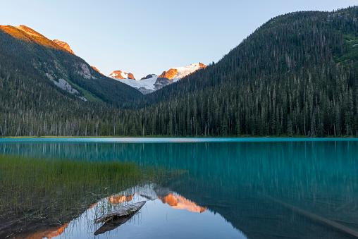 Joffre Lakes Provincial Park「Canada, British Columbia, Joffre Lakes Provincial Park, Lower Joffre Lake」:スマホ壁紙(10)
