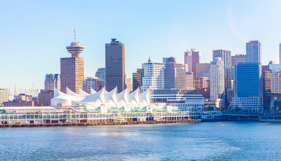 Vancouver - Canada「Canada, British Columbia, Vancouver, Convention Center and Canada Place」:スマホ壁紙(15)