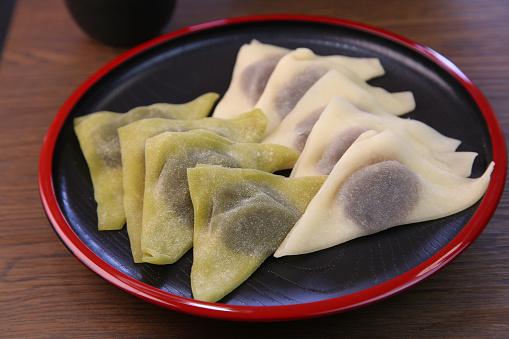 Wagashi「Yatsuhashi(type of sweet made with bean paste)」:スマホ壁紙(15)