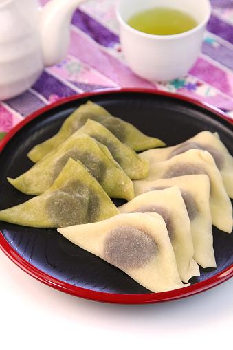 Wagashi「Yatsuhashi(type of sweet made with bean paste)」:スマホ壁紙(16)
