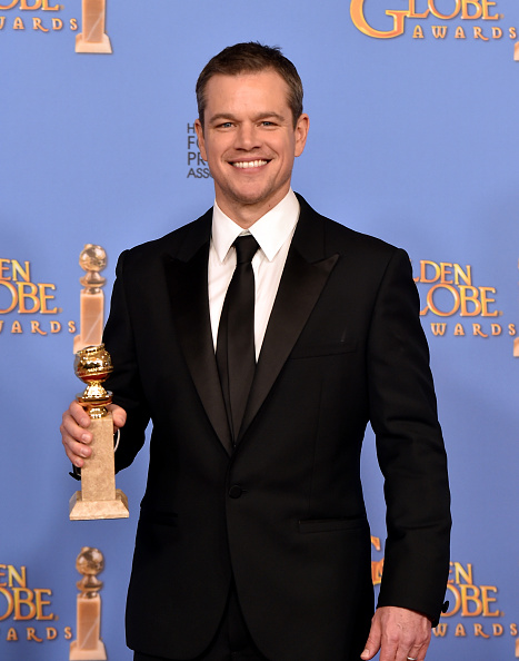マット・デイモン「73rd Annual Golden Globe Awards - Press Room」:写真・画像(11)[壁紙.com]