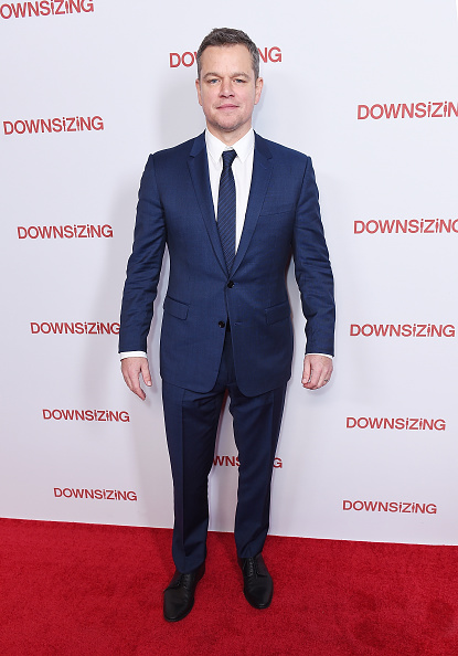 マット・デイモン「'Downsizing' New York Screening」:写真・画像(8)[壁紙.com]