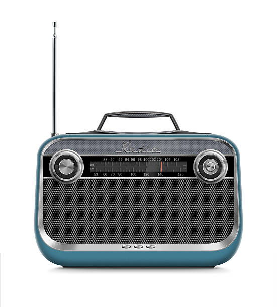 Stylish Vintage Portable Radio:スマホ壁紙(壁紙.com)