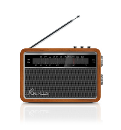 Antenna - Aerial「Stylish Vintage Portable Radio」:スマホ壁紙(2)