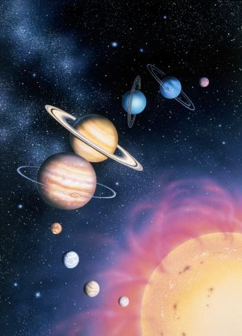 Solar System「Solar System, Illustration」:スマホ壁紙(16)