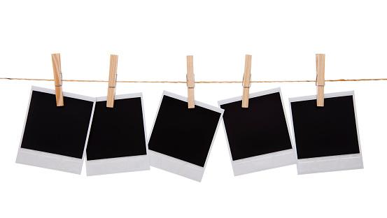 五つ「空のインスタントフォトプリント」:スマホ壁紙(4)