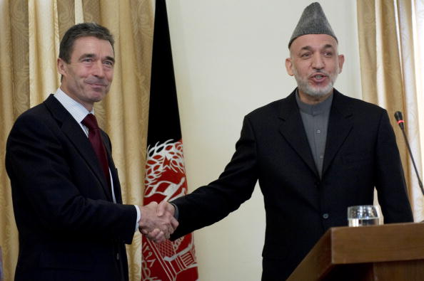 Kabul「NATO Secretary-General Anders Fogh Rasmussen and Afghan President Hamid Karzai Joint News Conference」:写真・画像(19)[壁紙.com]