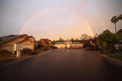虹「二重の虹を私」:スマホ壁紙(4)