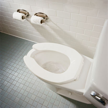 Flowing Water「Toilet in bathroom, high angle view」:スマホ壁紙(9)
