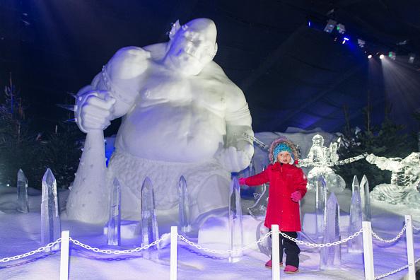 Ice Sculpture「The Magical Ice Kingdom At Hyde Park Winter Wonderland 2015」:写真・画像(7)[壁紙.com]