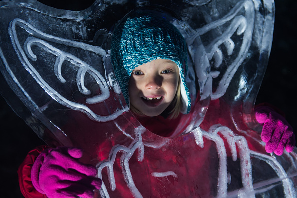 Ice Sculpture「The Magical Ice Kingdom At Hyde Park Winter Wonderland 2015」:写真・画像(0)[壁紙.com]