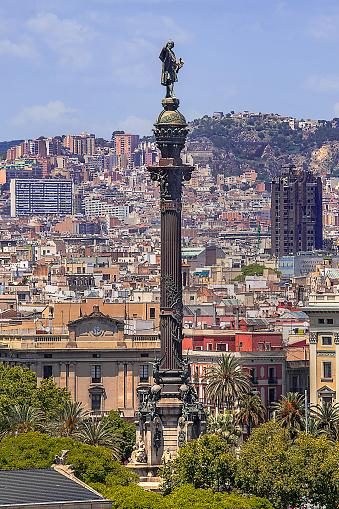 Fashion Show「Columbus Monument in Barcelona, Spain」:スマホ壁紙(17)