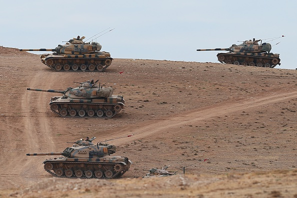 Syria「Clashes Between ISIL Militants Continue On Turkish Border With Syria」:写真・画像(18)[壁紙.com]