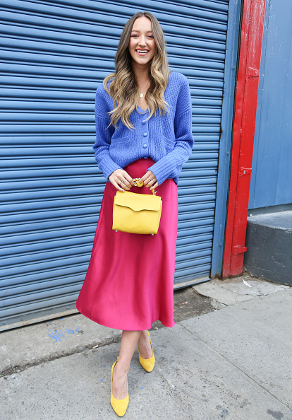 Pink Color「Street Style - Day 3 - New York Fashion Week February 2020」:写真・画像(18)[壁紙.com]