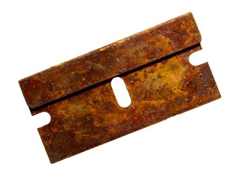 Archaeology「Rusty metal single edge blade」:スマホ壁紙(10)