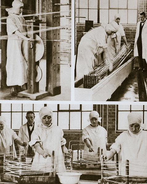 猫「Preparing Cat Gut At The London Hospital's Own Factory London 20th Century」:写真・画像(7)[壁紙.com]