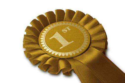 Winning「Gold Medal Rosette」:スマホ壁紙(2)