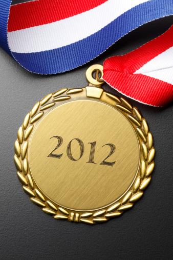 オリンピック「ゴールドメダル」:スマホ壁紙(16)