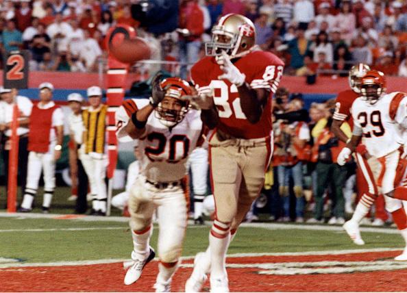 Touchdown「Super Bowl XXIII:  Cincinnati Bengals v San Francisco 49ers」:写真・画像(0)[壁紙.com]