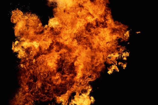 Fireball「Fire explosion」:スマホ壁紙(3)