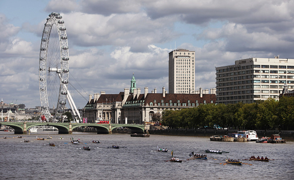 Rowing「Crews Participate In The Thames Annual Great River Race」:写真・画像(4)[壁紙.com]