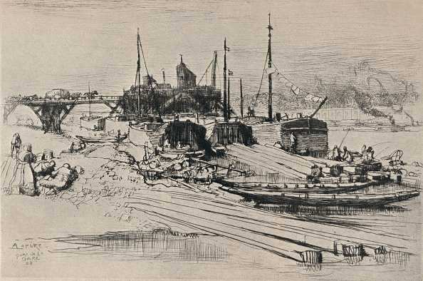 Physical Geography「'Public Waste Dump, Quai de la Gare', 1915」:写真・画像(4)[壁紙.com]