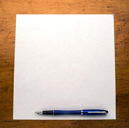 Letter - Document「pen paper desk」:スマホ壁紙(6)