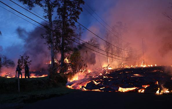 Hawaii Islands「Hawaii's Kilauea Volcano Erupts Forcing Evacuations」:写真・画像(19)[壁紙.com]