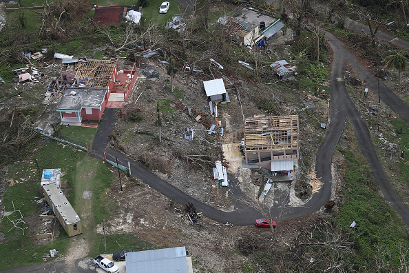 Damaged「Puerto Rico Faces Extensive Damage After Hurricane Maria」:写真・画像(1)[壁紙.com]