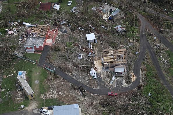 Damaged「Puerto Rico Faces Extensive Damage After Hurricane Maria」:写真・画像(19)[壁紙.com]