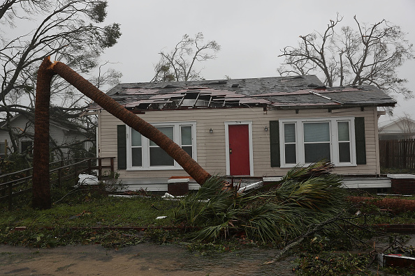 Hurricane - Storm「Hurricane Michael Slams Into Florida's Panhandle Region」:写真・画像(16)[壁紙.com]