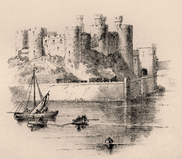 Welsh Culture「Conwy Castle」:写真・画像(15)[壁紙.com]