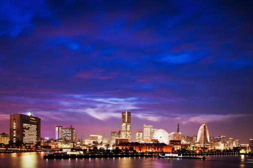 Yokohama「Yokohama Skyline」:スマホ壁紙(13)
