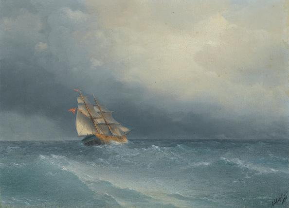波「The Lifting Storm 1880」:写真・画像(10)[壁紙.com]