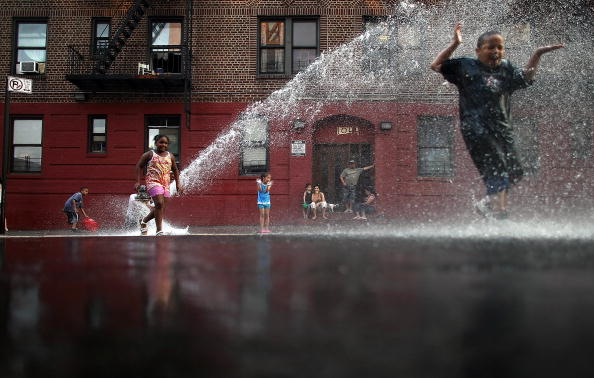熱さ「New York City Hit With Stifling Record Heat」:写真・画像(12)[壁紙.com]