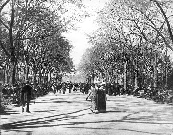 1870-1879「Central Park Stroll」:写真・画像(7)[壁紙.com]