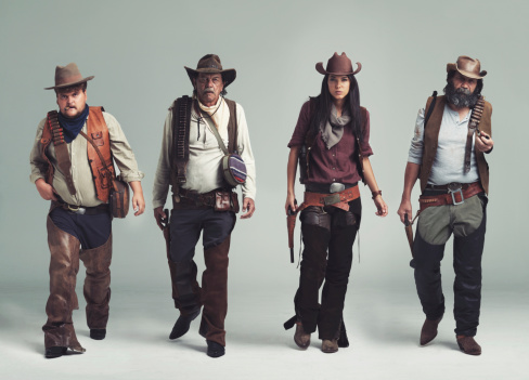 Cowboys & Aliens「You won't find a more diabolical band of outlaws!」:スマホ壁紙(5)