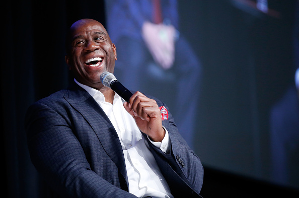 Magic Johnson「Global Gaming Expo 2017」:写真・画像(3)[壁紙.com]