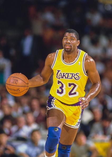 Magic Johnson「Utah Jazz vs Los Angeles Lakers」:写真・画像(16)[壁紙.com]