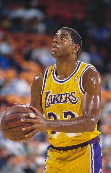 Magic Johnson「Golden State Warriors vs Los Angeles Lakers」:写真・画像(11)[壁紙.com]
