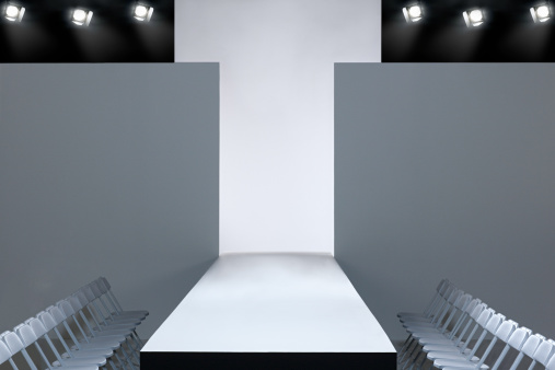 Catwalk - Stage「Fashion show and empty catwalk」:スマホ壁紙(0)