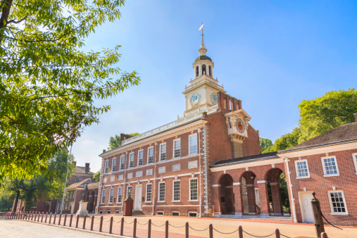 Philadelphia - Pennsylvania「Historic Independence Hall in Philadelphia, Pennsylvania」:スマホ壁紙(1)