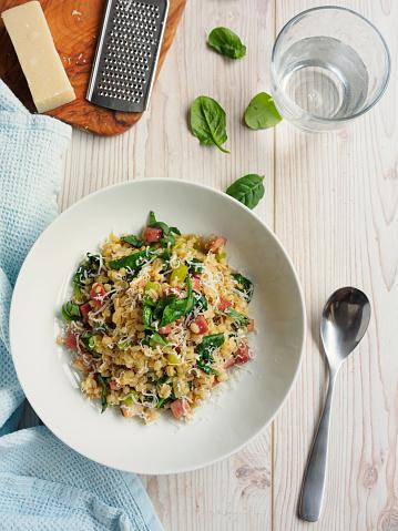 セロリ「healthy pearl barley risotto」:スマホ壁紙(19)