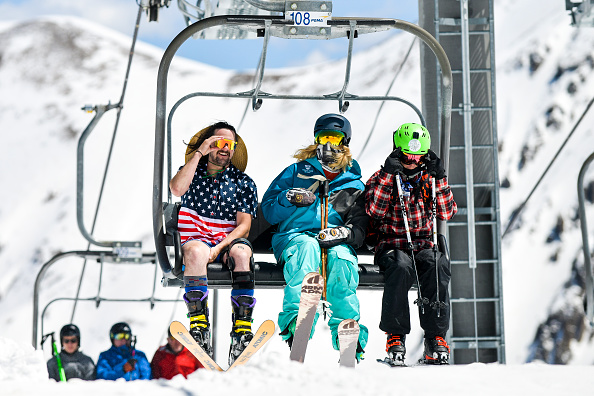 Shorts「Skiers And Snowboarders Enjoy Spring Conditions At Arapahoe Basin Over Memorial Day Weekend」:写真・画像(18)[壁紙.com]
